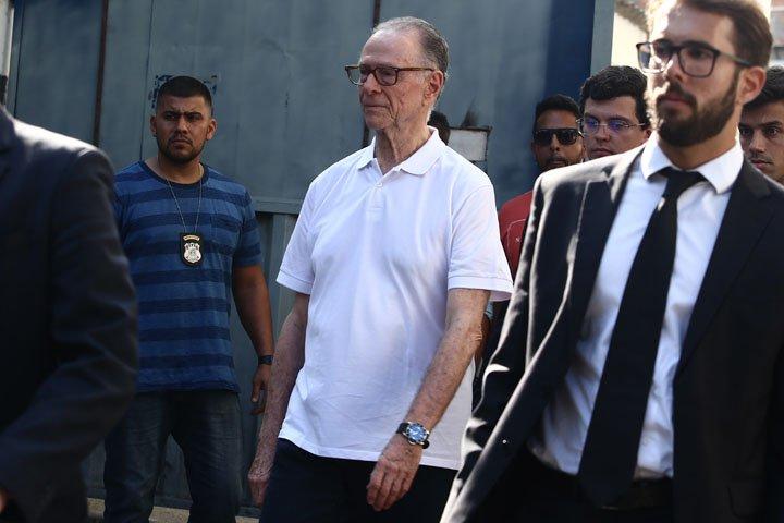 @BroadcastImagem: Carlos Arthur Nuzman deixa a Cadeia Pública José Frederico Marques, no Rio de Janeiro. Fábio Motta/Estadão