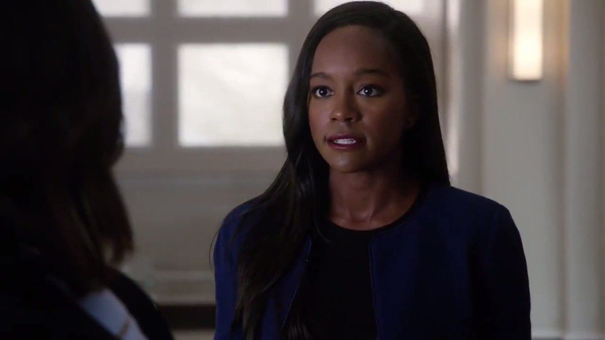 RT @HowToGetAwayABC: Painful truths come out between Annalise and Michaela. #HTGAWM https://t.co/KSQxdiE1HJ