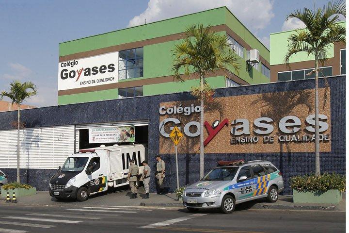 @BroadcastImagem: Atirador mata ao menos 2 e fere 4 alunos em escola particular de Goiânia. Dida Sampaio/Estadão