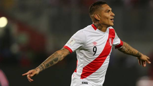 Paolo Guerrero to lead Peru against All Whites in World Cup qualifiers