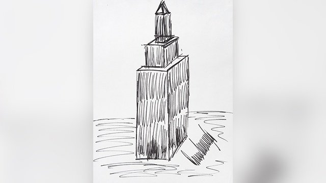 Trump's drawing of Empire State Building exceeds expectations at auction
