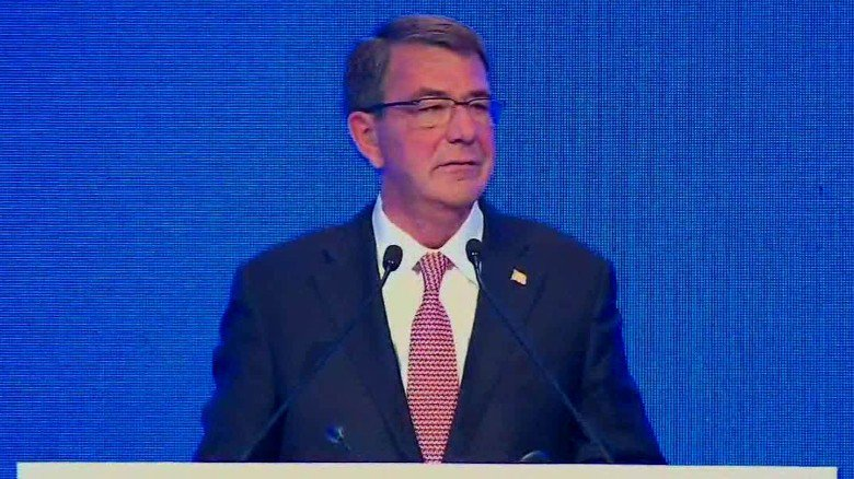 """Former Defense Secretary Carter: ISIS plan was """"laid out two years ago"""""""