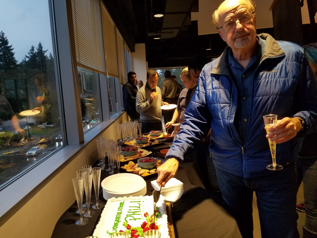 RT @Voicebox_Tech: Here's Phil cutting the cake at a small celebration we held for him last night. https://t.co/jGmVSxUPsN