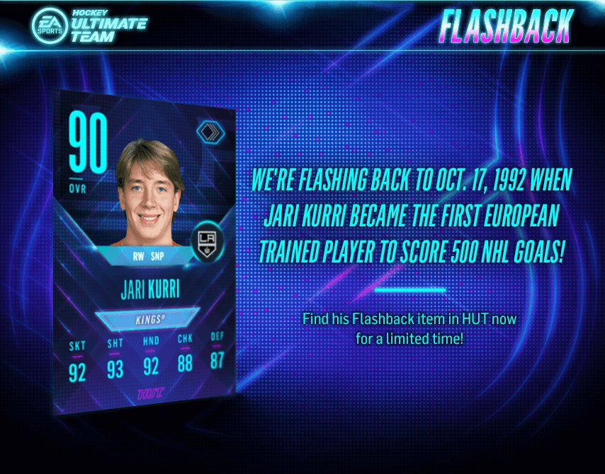 #FlashbackFriday to Kurri being the first European player to find the twine 500 times! https://t.co/d1Nva5FHqK