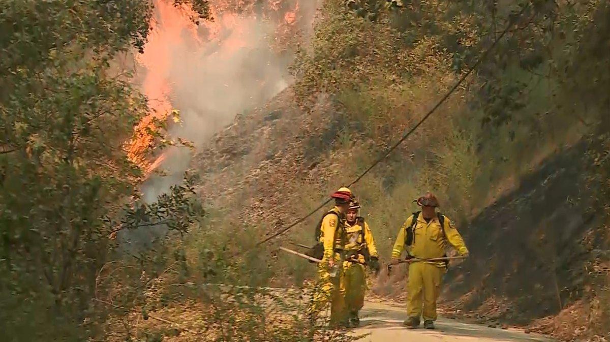 Aided By Rain, Bear Fire Containment Reaches 40Percent
