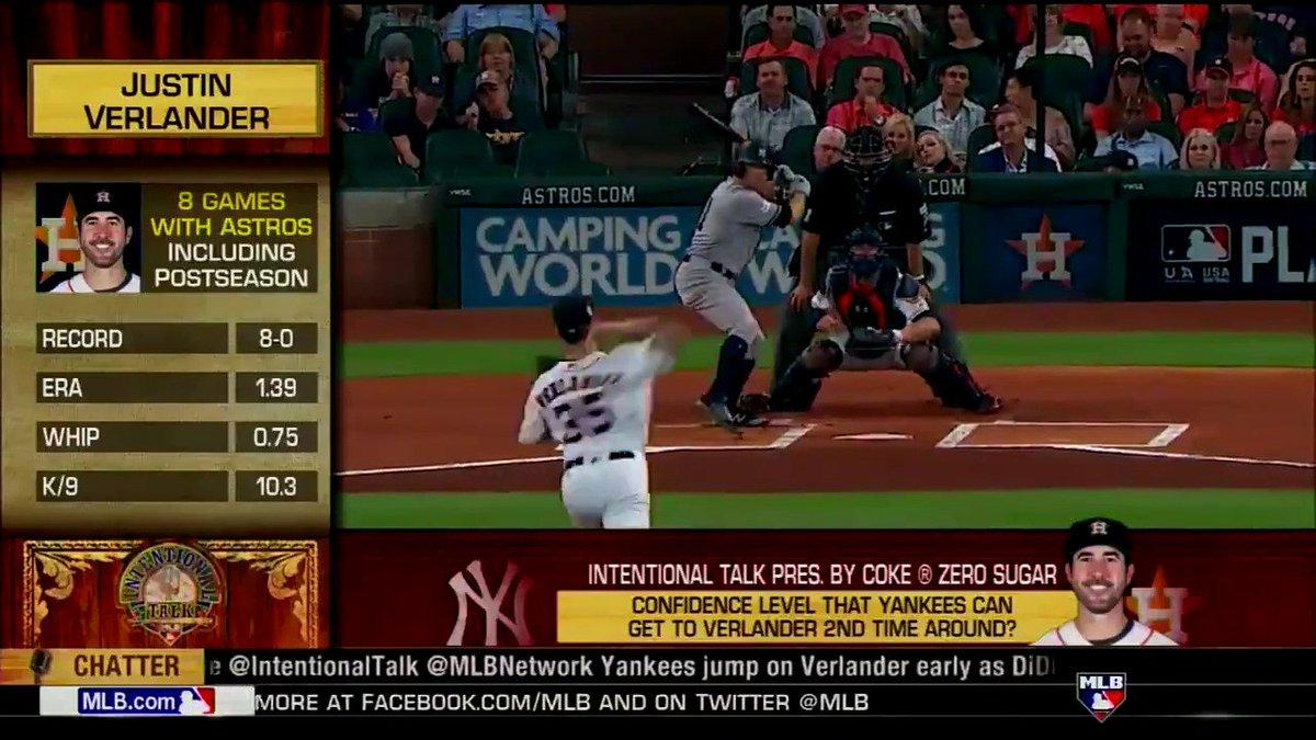 How confident are the #Yankees going into Game Six against Justin Verlander? #IntentionalTalk https://t.co/5wUbkTlTxA