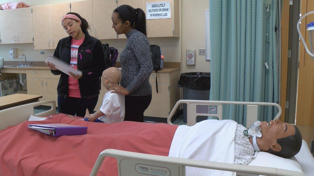 Nursing program at Gaston College looks to defeat health care wo - | WBTV Charlotte