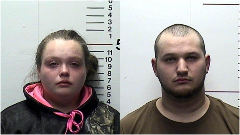2 arrested after leaving baby in car to commit burglary