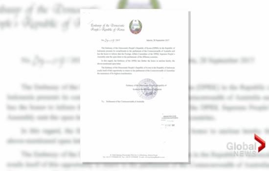 North Korea pens open letter warning world leaders keep 'sharp vigilance' of Trump