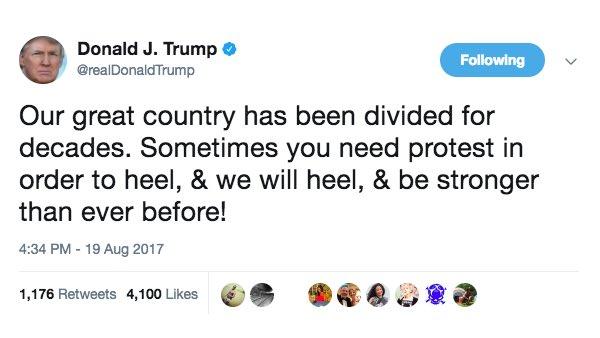 RT @AHamiltonSpirit: Donald Trump's Achilles Heel #TwitterIn4Words https://t.co/jVRBq0arc4