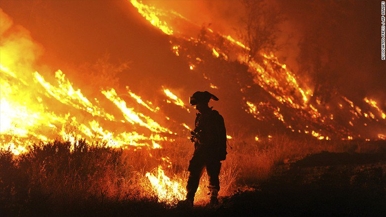 34 pot farms have burned down in California wildfires