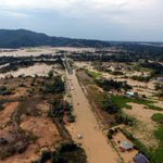 Banjir Kota Belud kesan gempa 2015