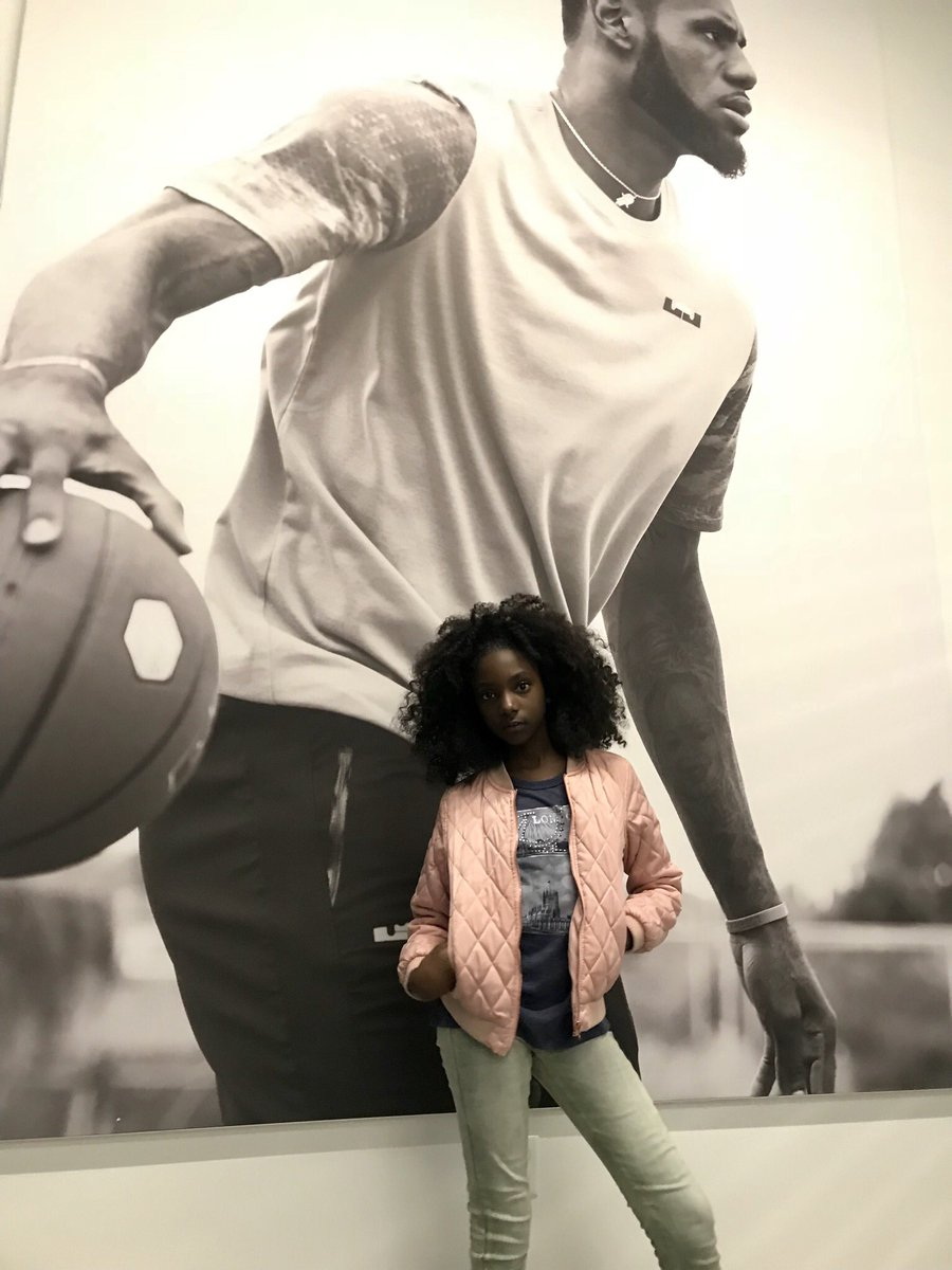 RT @KherisPoppin: I went from being bullied for my skin tone to modeling at Nike headquarters. Ain't it a blessing? https://t.co/IvkxwJyQMq
