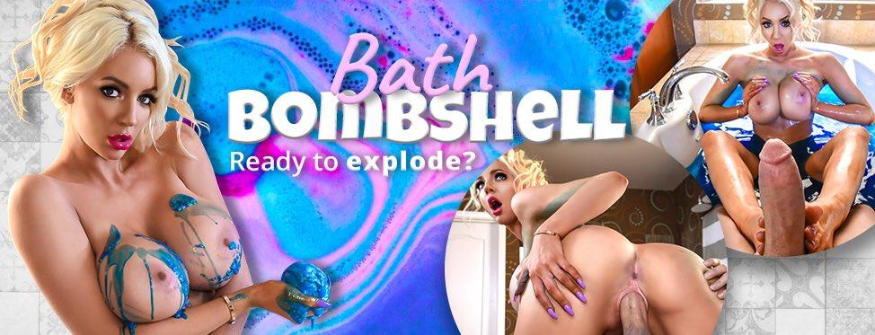 Splish Splash With Me In The Bath! (my favorite place😻) #BathBombshell 🛁💦on L5dbLn39nt