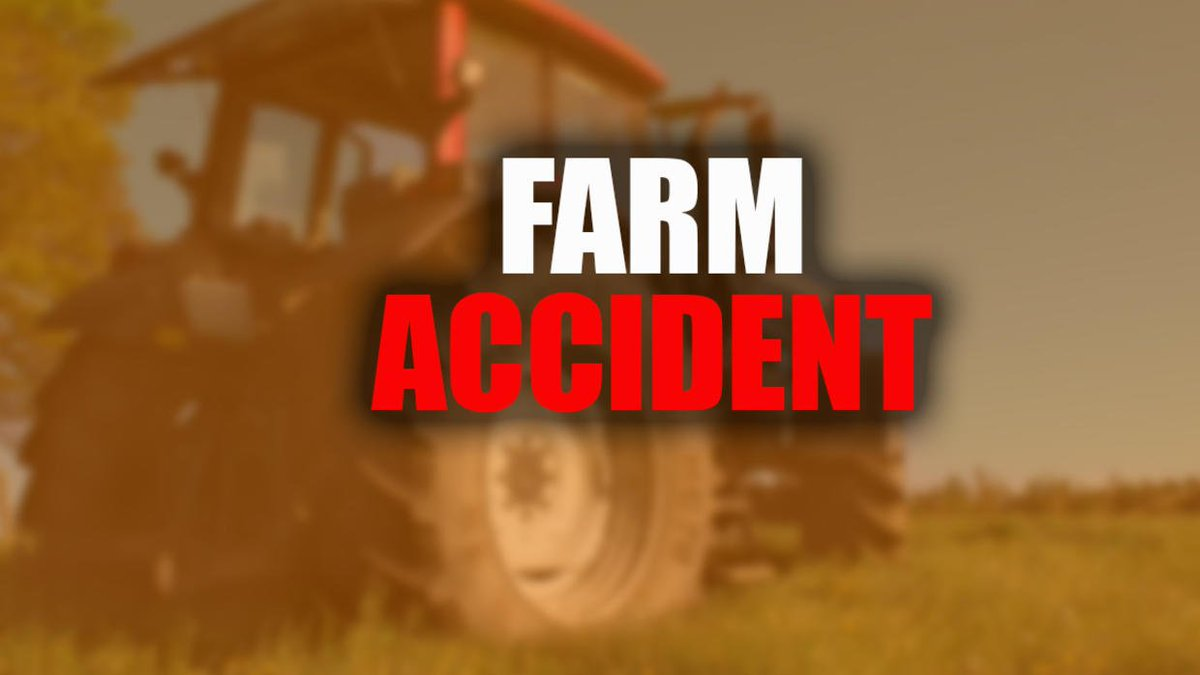 Tractor operator injured in collision with semi on highway 20 miles south of Valley City