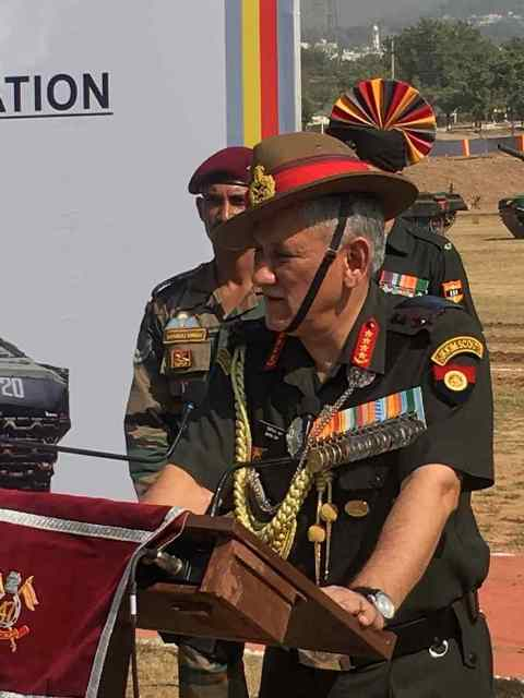 Army Chief Bipin Rawat speaks on Kashmir situation & radicalization: 6 points