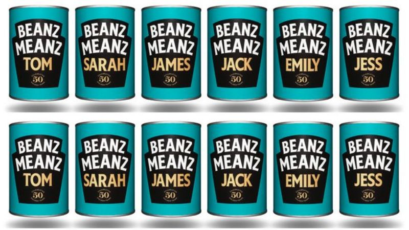 Stuck for a Christmas present? Well how about a PERSONALISED tin of Heinz Baked Beans?