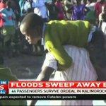 Floods sweep away bus in Turkana