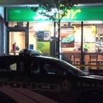 Man slashed outside Eglinton Avenue Subway restaurant