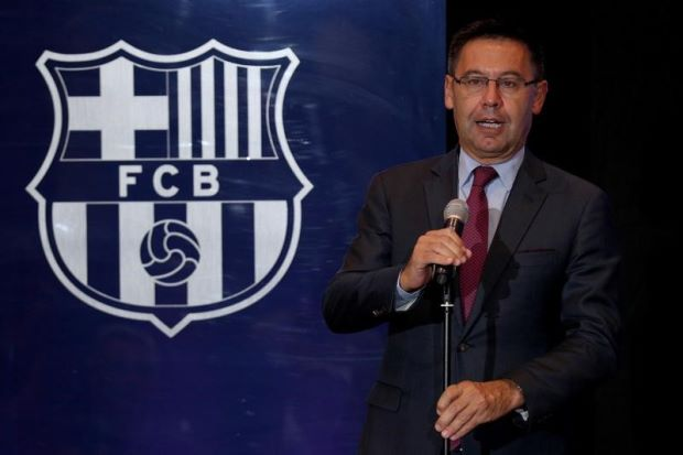 Barca want to stay in La Liga amid independence crisis - club president