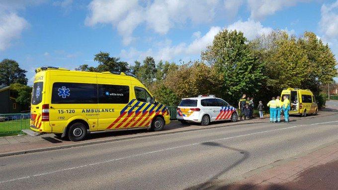 DeLier. 2 tieners gewond aan de Sportlaan. Kids onder A1 vervoerd. Later verdere info. https://t.co/4FUxqhTIBF