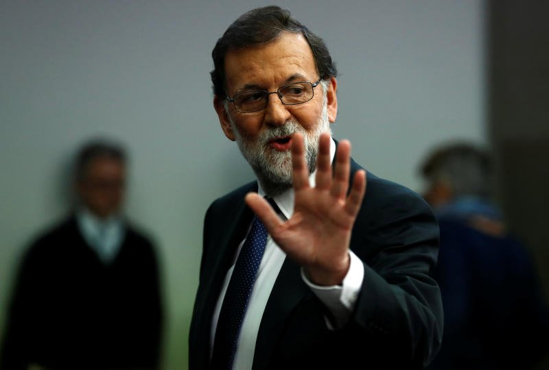 Spain's Rajoy says will sack Catalan government, call regional elections