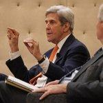 John Kerry optimistic about future of Paris accords he tells R.I. environmental forum