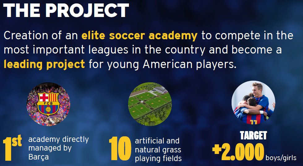 Details of the Barça Academy NY project in the United States #FCBlive https://t.co/y0x4dkjAvx