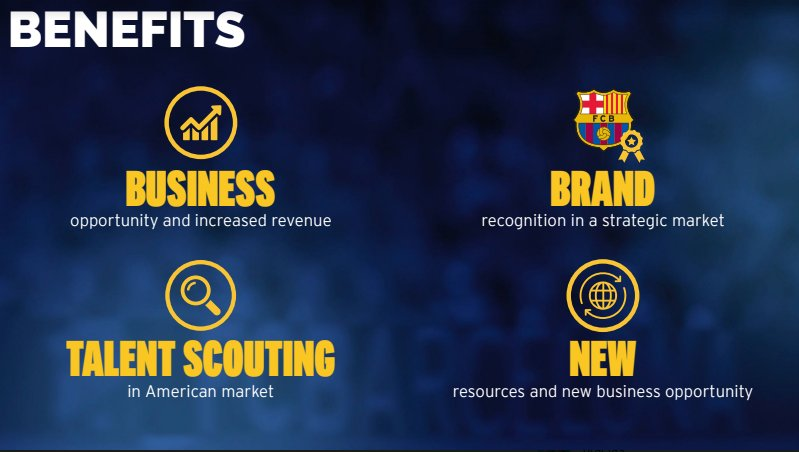 The main benefits of the Barça Academy project in the United States #FCBlive https://t.co/Hb4wPNoQw7