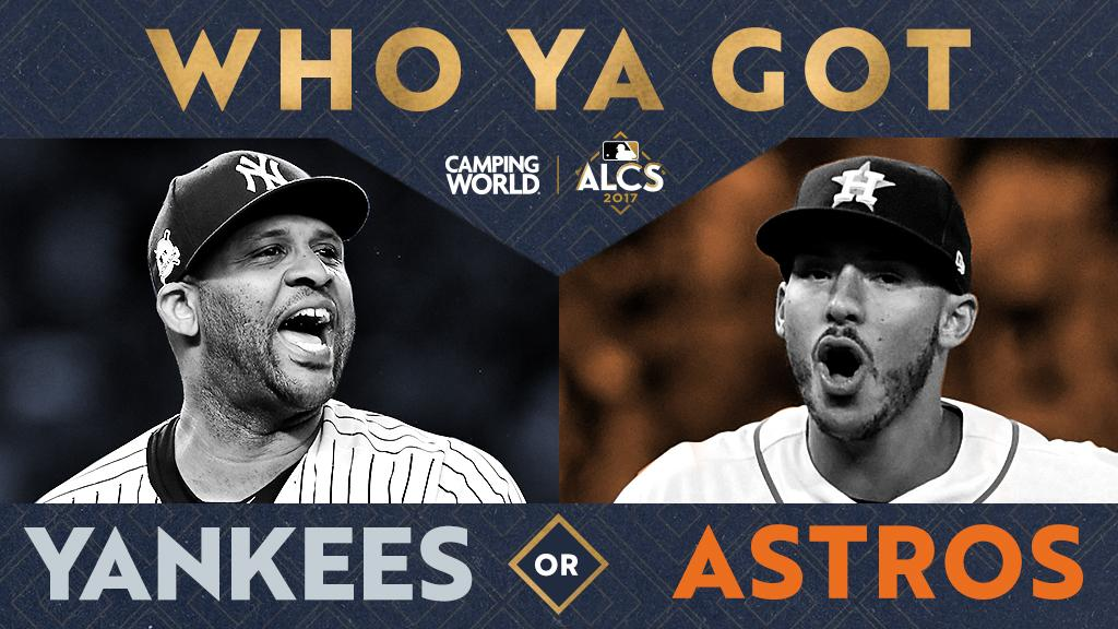 test Twitter Media - .@Yankees. @Astros. The AL pennant comes down to this. There's only one question left: Who ya got? #Game7 https://t.co/hiP1HBwJfA