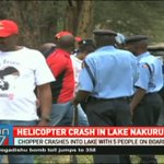 Helicopter crashes in lake Nakuru with 4 passengers