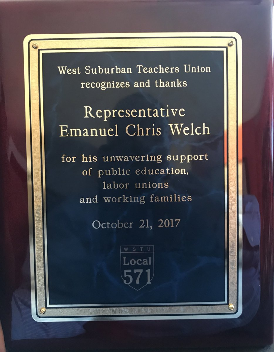 """test Twitter Media - Truly honored to be recognized by WSTU Local 571 for my """"unwavering support of public education, labor unions and working families"""" today! https://t.co/V53hGXVXKP"""