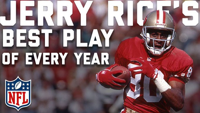 Jerry Rice\s Best Play from Every Year of Career | Happy Birthday Jerry! | NFL Highlights
