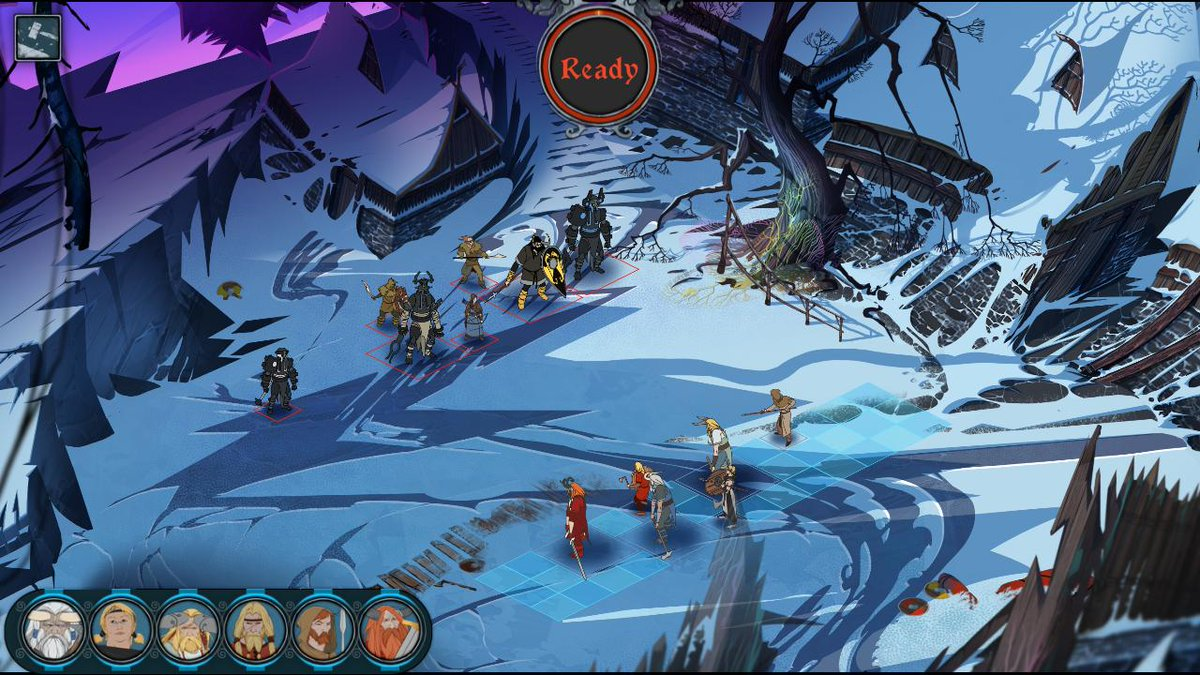 test Twitter Media - Sneaking a peek at #BannerSaga 3! Alpha Battles are being tested by our @kickstarter backers now! #indiedev #indiegame #ScreenshotSaturday https://t.co/oGalxCBc2G