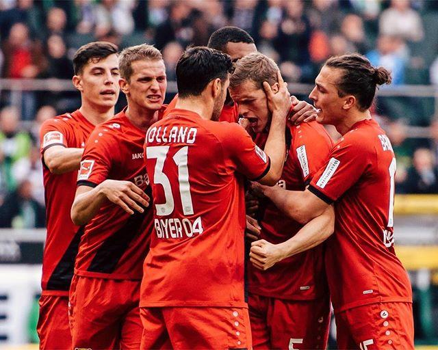 Leverkusen went super saiyan in the 2nd half!! Fulltime #BMGB04 1-5   📷: @bayer04fussball https://t.co/qLdKafnYjq
