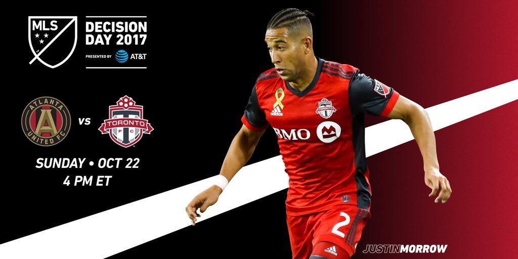 Looking forward to our big match in ATL tomorrow for #DecisionDay by @ATT See you there ⚽️⚽️ https://t.co/W1Fy3NnW80