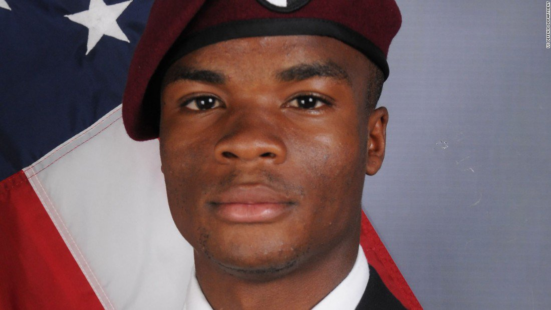 Loved ones say good-bye to Sgt. La David Johnson, one of the US soldiers slain in Niger