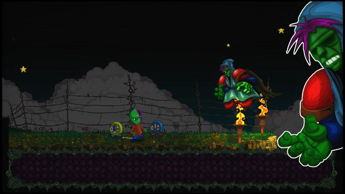 test Twitter Media - ¡Este miércoles 25/10 llega #NightmareBoy a #Steam, #PS4 y #XboxOne! #metroidvania #indiedev #retrogaming #ScreenshotSaturday #indiegame https://t.co/nomMLUS7pq