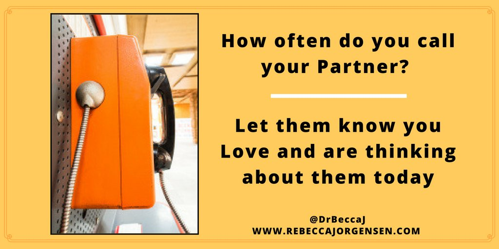 How often do you call your sweetheart to tell them you love them? #love #relationships #marriage https://t.co/rBAJl2UO4X