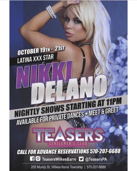 Tonight is my last night at @TeasersPA 3 shows 💃💃💃💃 https://t.co/pPvzP7mzoy
