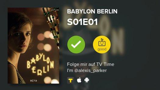 I've just watched episode S01E01 of Babylon Berlin! #babylonberlin  https://t.co/ZxhB8EBilS #tvtime https://t.co/zdwBnU7H4Q