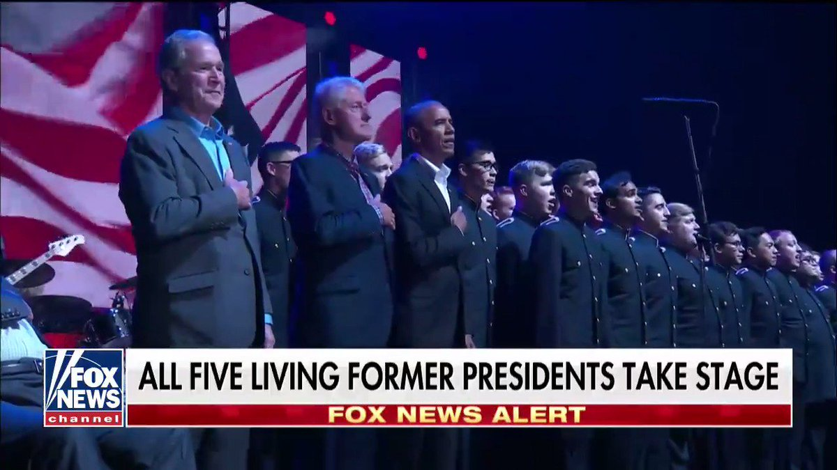RT @FoxNews: .@TAMU Singing Cadets perform National Anthem at #OneAmericaAppeal https://t.co/LIkmzSLyWA