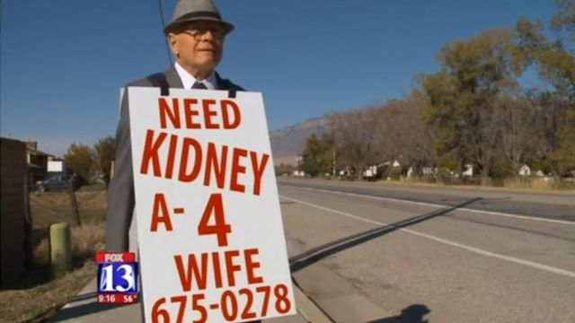 74-year-old man walks for miles in search of kidney donor for wife https://t.co/uvmWDzzikH https://t.co/Vod92Lb2XQ