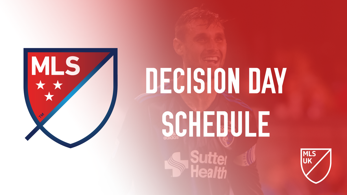 Tomorrow is #DecisionDay!  Check out the schedule here...  https://t.co/Zv4AkU2724  #MLS #Soccer https://t.co/OxL6caFmHK