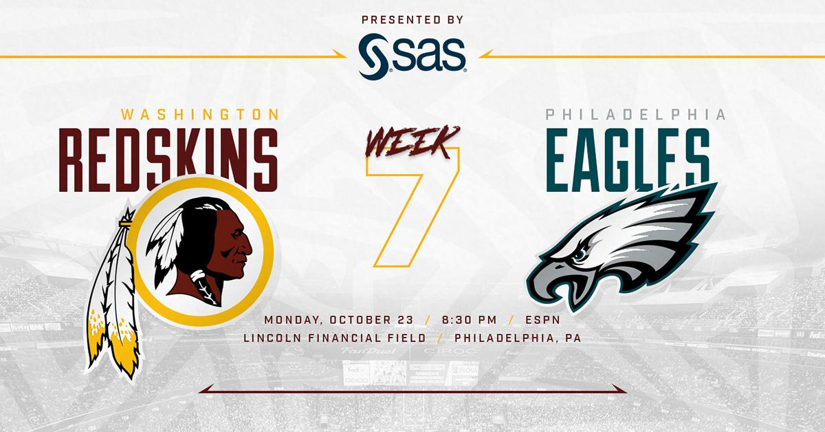 Ready for the rivalry. #SAS #HTTR  @SASSoftware #WASvsPHI Infographic: https://t.co/c9N2mGJ7Qx https://t.co/unzIpf4s33