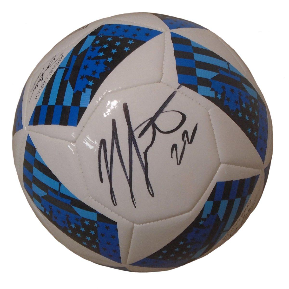 Jordan Hamilton Autographed MLS Adidas White Soccer Ball, Proof Photo USD 119.99 https://t.co/HmGdpvbfdv https://t.co/YrO2RY9sLc