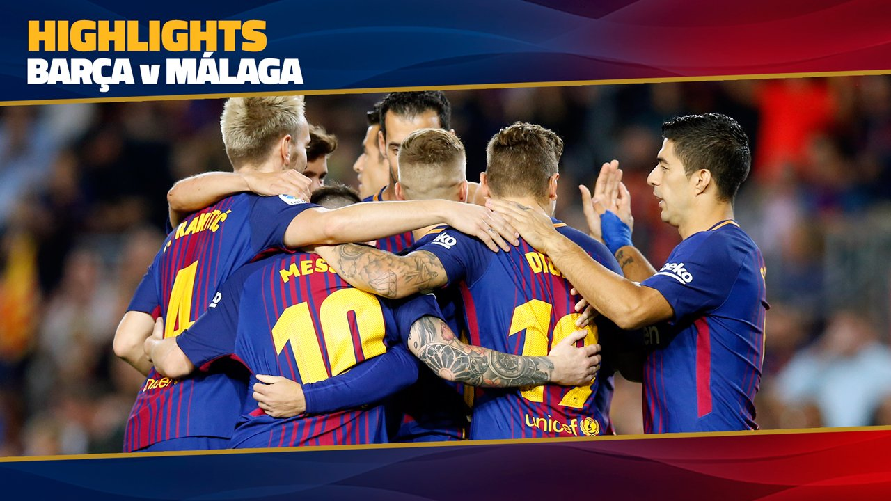 �� MATCH HIGHLIGHTS ��   #BarçaMálaga (2-0) ⚽️ Deulofeu, Iniesta https://t.co/NIqYJvyDDU https://t.co/4GZ8dn18za