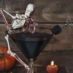 Halloween cocktails, punches and soft drinks