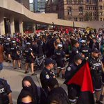 Anti-Trudeau, anti-racism demonstrators clash in Toronto; four arrested
