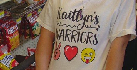 Alabaster's 'Warrior Princess' sells t-shirts to raise money for Arthritis Foundation